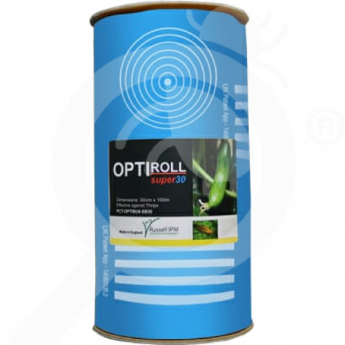 gr russell ipm adhesive trap optiroll blue - 0, small
