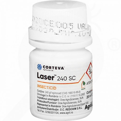 gr dow agro insecticide crop laser 240sc 20 ml - 0