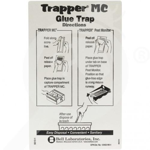 sl bell laboratories adhesive plate trapper mc glue trap 2 p - 1, small