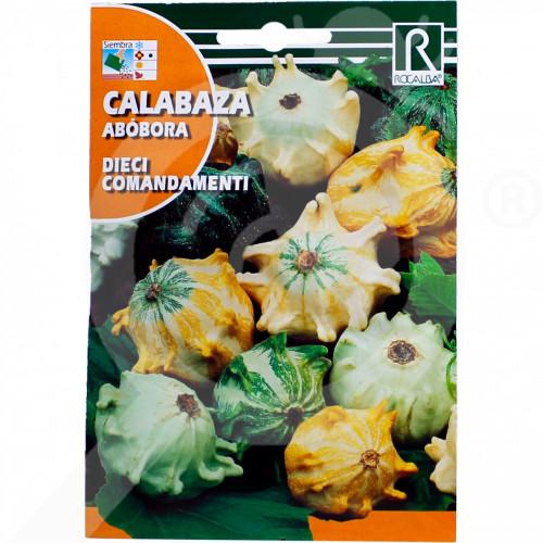 sl rocalba seed decor pumpkin dieci comandamenti 2 g - 0, small