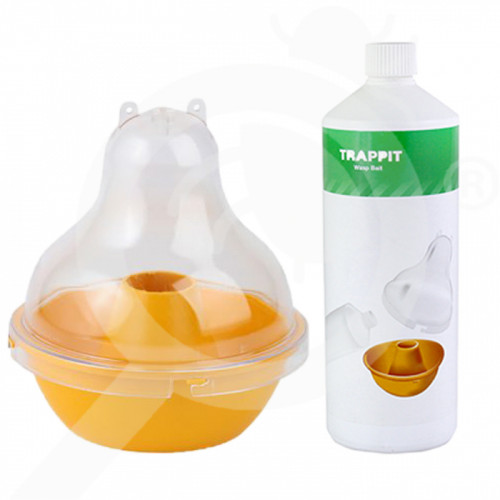 sl agrisense trap wasp dome attractant wasp bait 1 l - 0, small