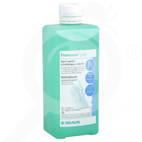 sl b braun disinfectant promanum pure 500 ml - 0, small