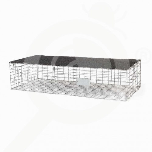si bird x trap pigeon trap with shade 89x41x20 cm - 0, small