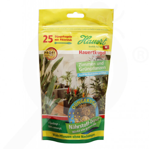sl hauert fertilizer interior plant pellet 25 p - 0, small