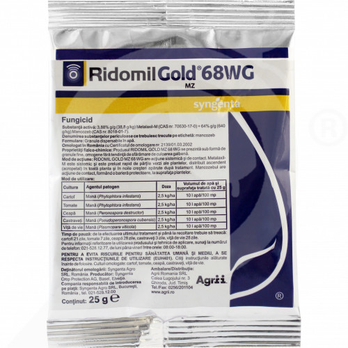 sl syngenta fungicide ridomil gold mz 68 wg 25 g - 1, small