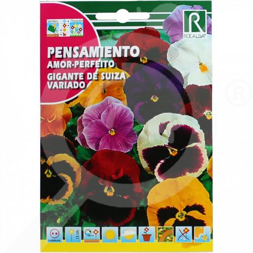 sl rocalba seed pansy amor perfeito gigante de suiza variado 0 5 - 0, small