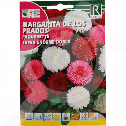 sl rocalba seed paquerette super enorme doble 0 2 g - 0, small