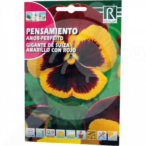 sl rocalba seed pansy amor perfeito de suiza rojo 0 5 g - 0, small