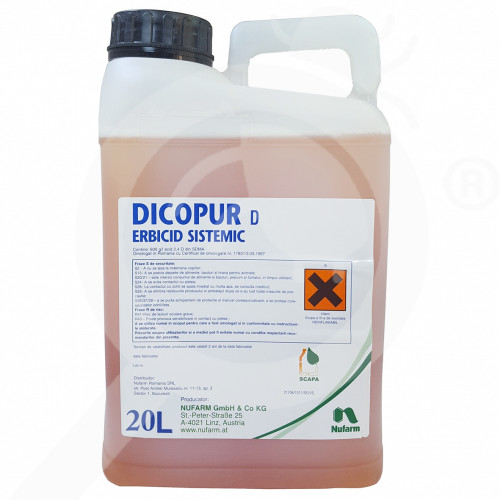 sl nufarm herbicide dicopur top 464 sl 20 l - 0, small