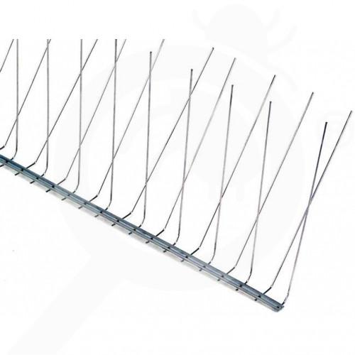 sl nixalite repellent bird spikes e model half 0 6 m - 0, small