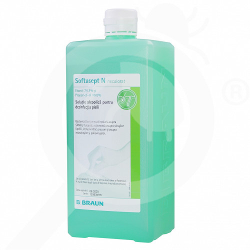 sl b braun disinfectant softasept n 1 l - 0, small