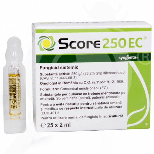sl syngenta fungicide score 250 ec 2 ml - 0, small