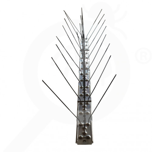 sl eu repellent bird spikes 64 steel 3 rows - 0, small