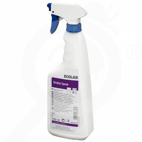 sl ecolab disinfectant sirafan speed 750 ml - 0