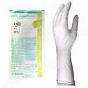 es b braun gloves vasco surgical powdered 6 5 2 p - 3, small