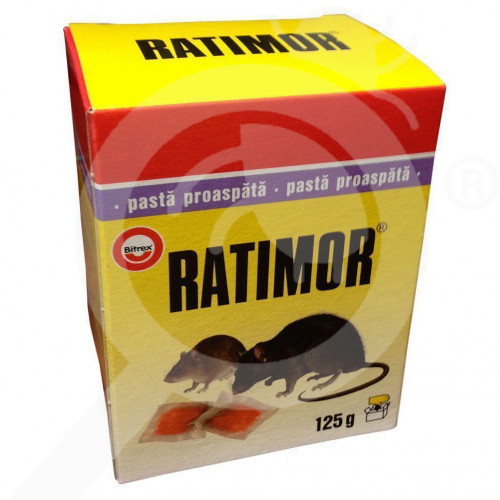 es unichem rodenticide ratimor pasta 125 g - 0, small