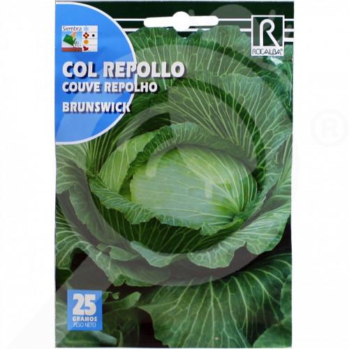 es rocalba seed cabbage brunswick 25 g - 0, small