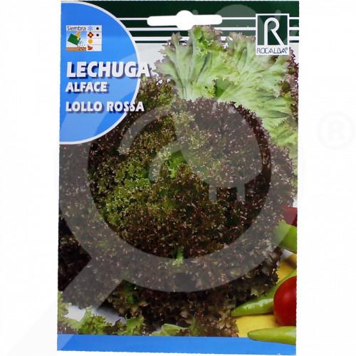 es rocalba seed red lettuce lollo rossa 100 g - 0, small