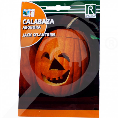 es rocalba seed decor pumpkin jack o lantern 5 g - 0, small
