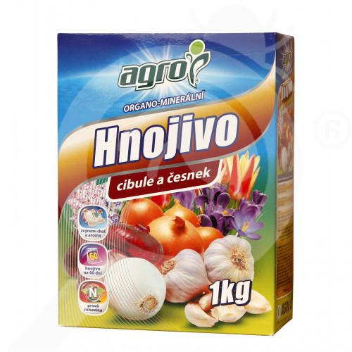 es agro cs fertilizer organo onion garlic flower bulb 1 kg - 0, small