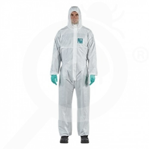 es ansell microgard coverall alphatec 1800 standard xl - 0, small