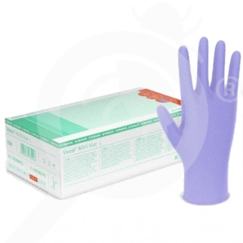 es b braun safety equipment vasco nitril blue s 150 p - 0, small