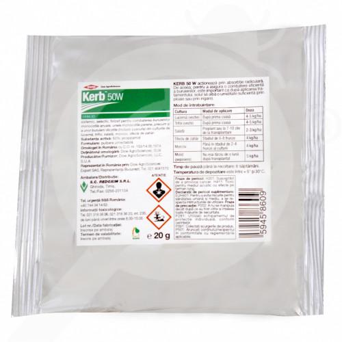 es dow agro herbicide kerb 50 w 20 g - 0, small