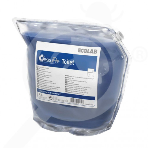 es ecolab detergent oasis pro toilet 2 l - 0, small