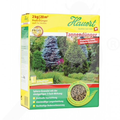 es hauert fertilizer ornamental conifer shrub 2 kg - 0, small
