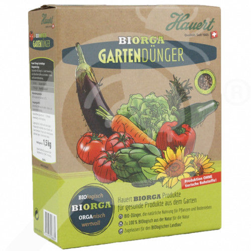 es hauert fertilizer organic vegetable 1 5 kg - 0, small