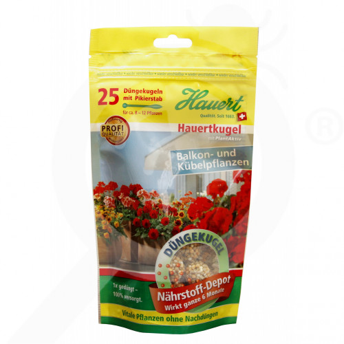 es hauert fertilizer balcony plant pellet 25 p - 0, small