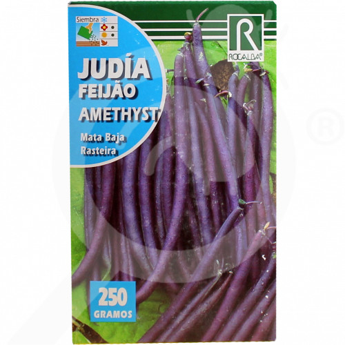 es rocalba seed violet beans amethyst 250 g - 0, small