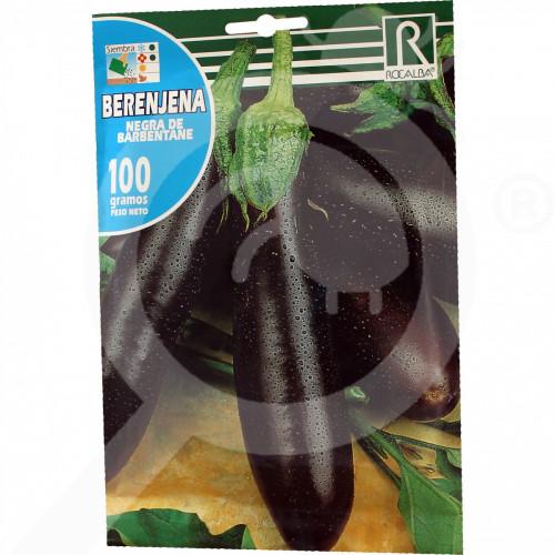 es rocalba seed eggplant negra de barbentane 100 g - 0, small