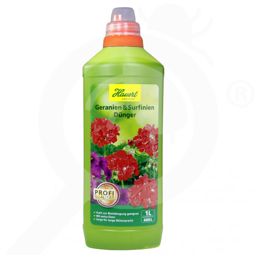 es hauert fertilizer pelargoniums petunias 1 l - 0, small