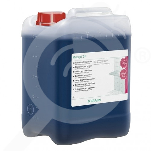 es b braun disinfectant melsept sf 5 l - 0, small