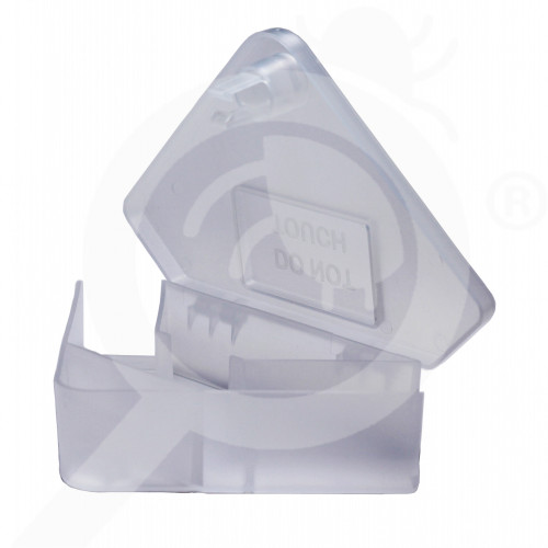 es ghilotina bait station s14 mice station transparent corner - 0, small