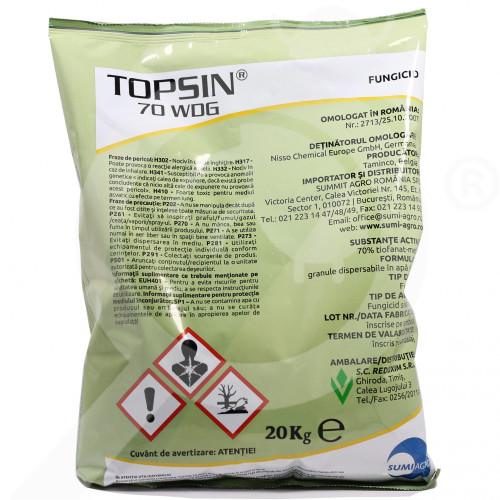 es nippon soda fungicide topsin 70 wdg 20 kg - 0, small