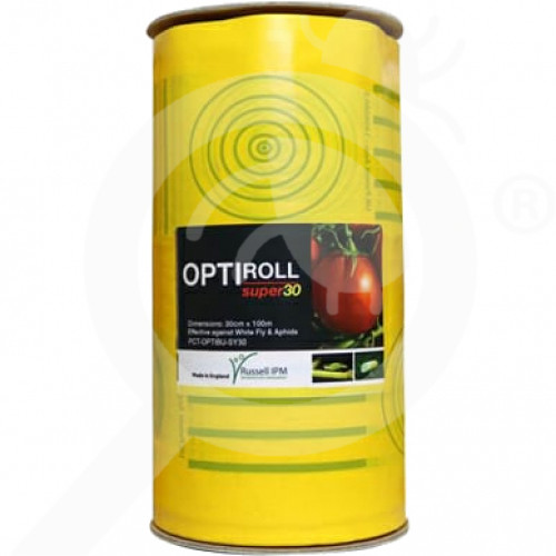 es russell ipm adhesive trap optiroll yellow - 0, small