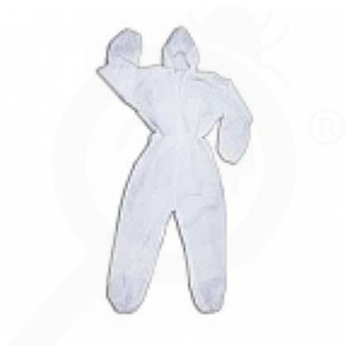 es eu safety equipment polypropylene coverall l - 0, small