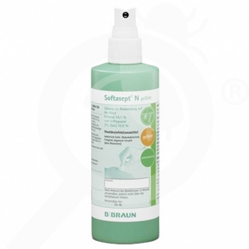 es b braun disinfectant softasept n 250 ml - 0, small