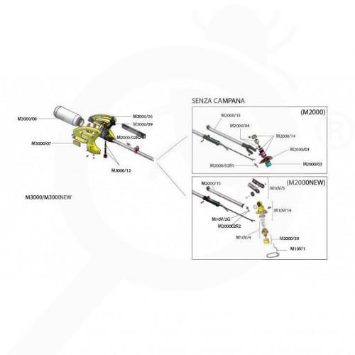 es volpi sprayer fogger micronizer m2000 - 0