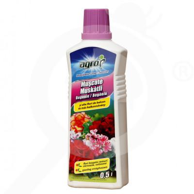 ro agro cs ingrasamant flori de balcon lichid 500 ml - 1
