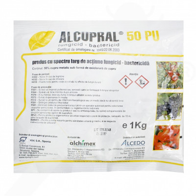 ro alchimex fungicid alcupral 50 pu 1 kg - 1