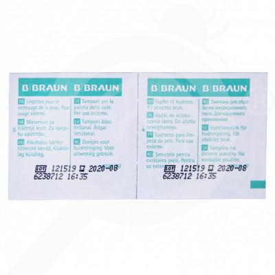 ro b braun dezinfectant alcohol pads 100 bucati - 1