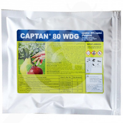 ro arysta lifescience fungicid captan 80 wdg 150 g - 1