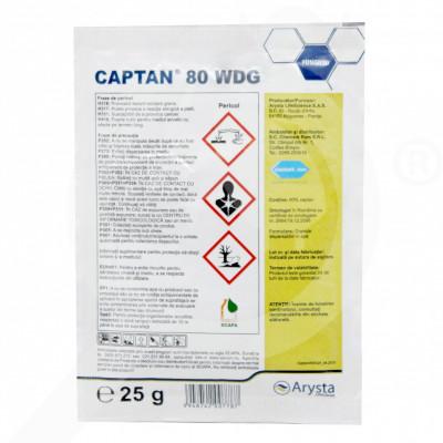 ro arysta lifescience fungicid captan 80 wdg 25 g - 1