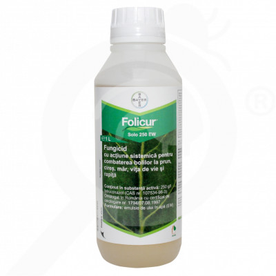 ro bayer fungicid folicur solo 250 ew 1 l - 1