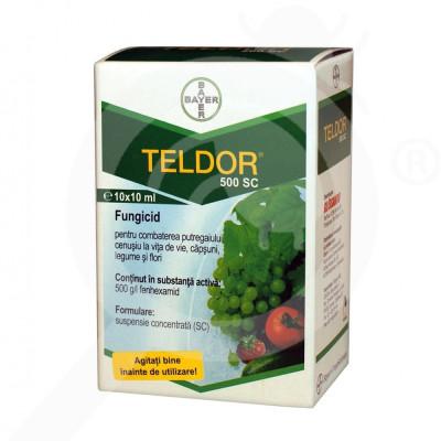 ro bayer fungicid teldor 500 sc 10 ml - 1