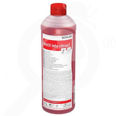 ro ecolab detergent maxx2 into citrus 1 l - 1