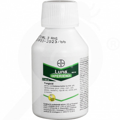 ro bayer fungicide luna experience 100 ml - 0